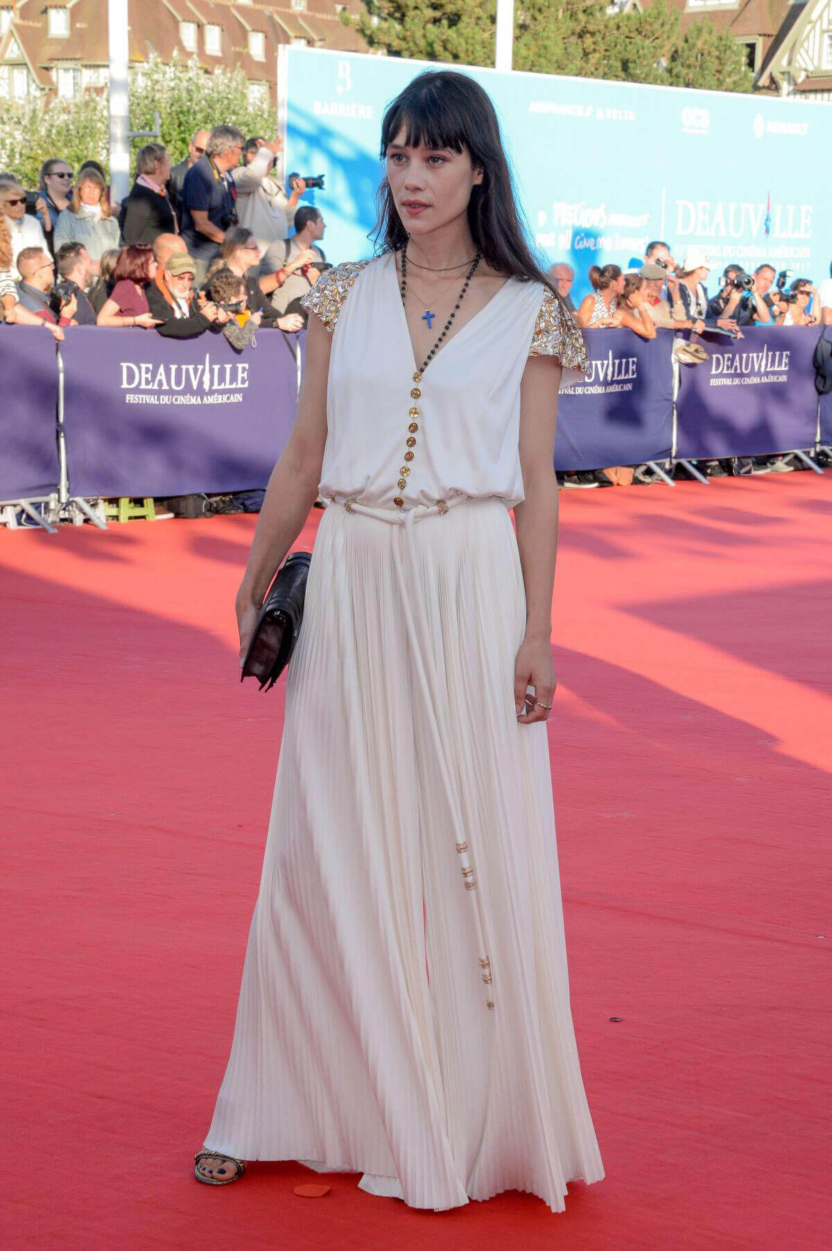 Astrid Berges-Frisbey Stills at 43rd Deauville American Film Festival Opening Ceremony