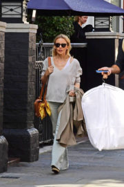 Australian Singer Kylie Minogue Stills Out and About in London