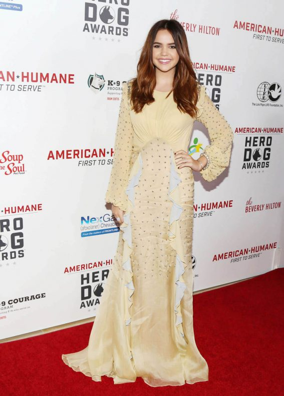 Bailee Madison at 7th Annual Hero Dog Awards in Beverly Hills