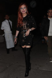 Bella Thorne Stills at Leaves the Bowery Hotel in New York