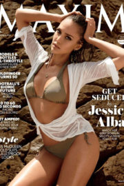 Best from the Past - Jessica Alba Poses for Maxim Magazine Photoshoot, September 2014