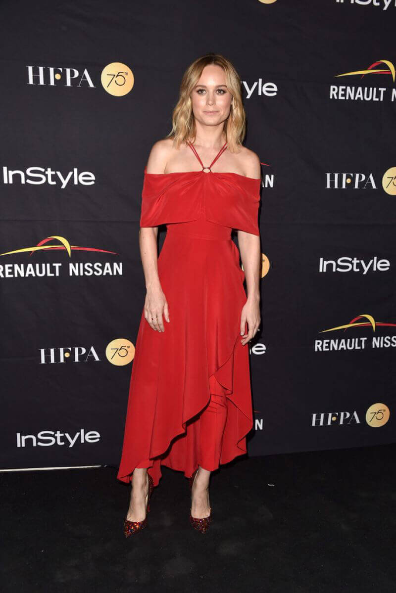 Brie Larson Stills at HFPA & Instyle Annual Celebration of 2017 TIFF