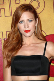 Brittany Snow Stills at HBO Post Emmy Awards Reception in Los Angeles