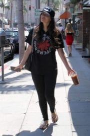 Brittny Gastineau Stills Out for Iced Coffee in Beverly Hills