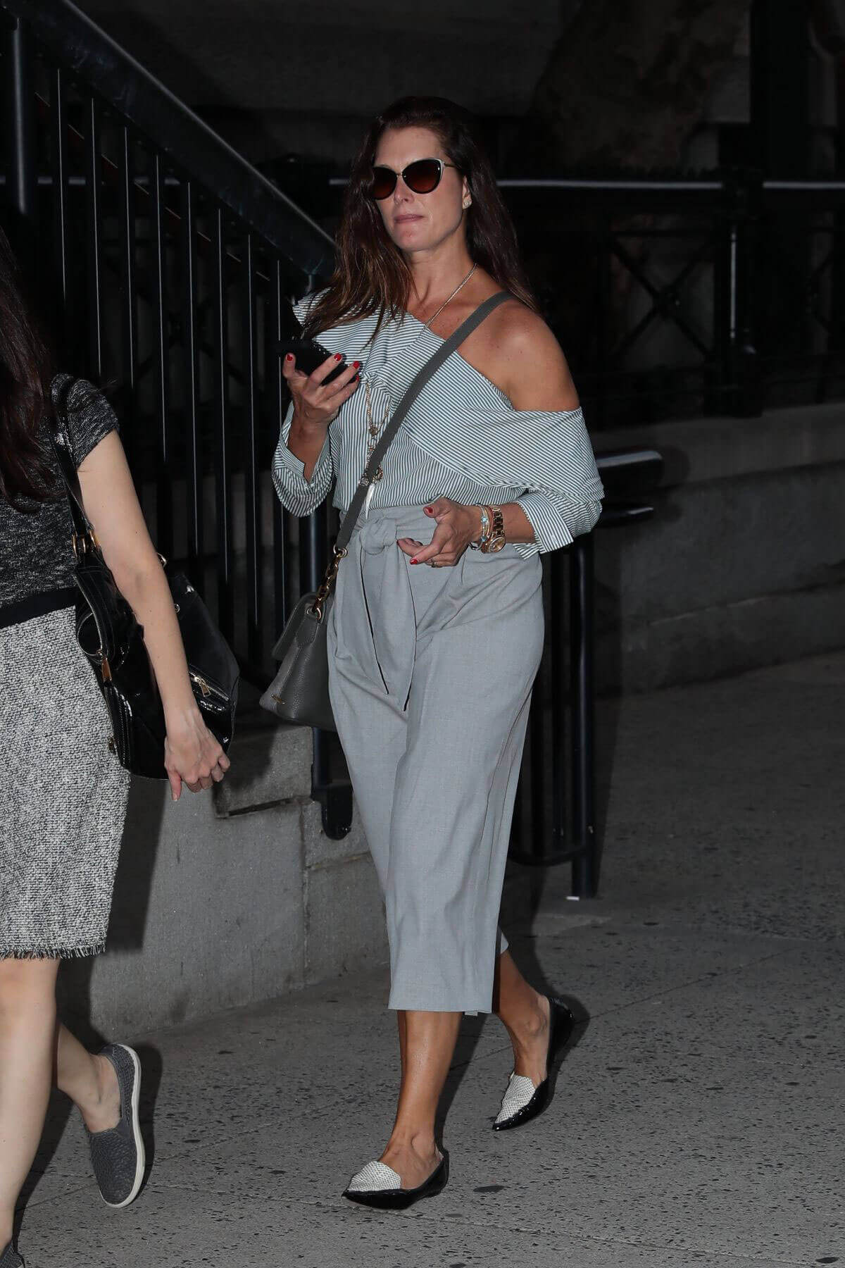 Brooke Shields Stills Night Out in New York Photos