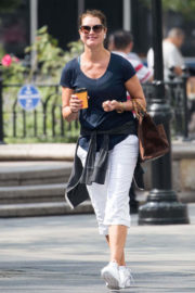 Brooke Shields Stills Out and About in New York