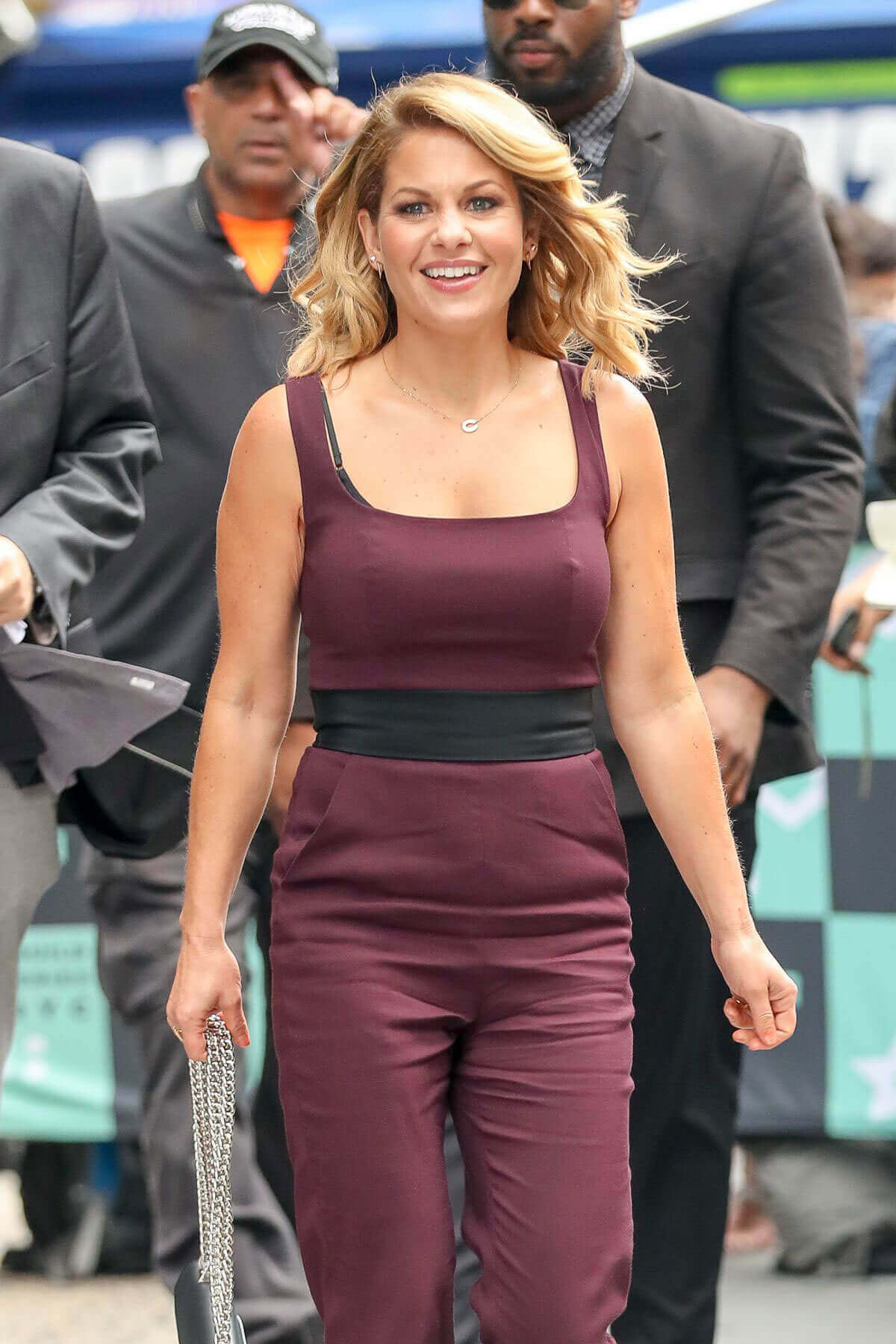 Candace Cameron-Bure Stills Leaves AOL Studios in New York