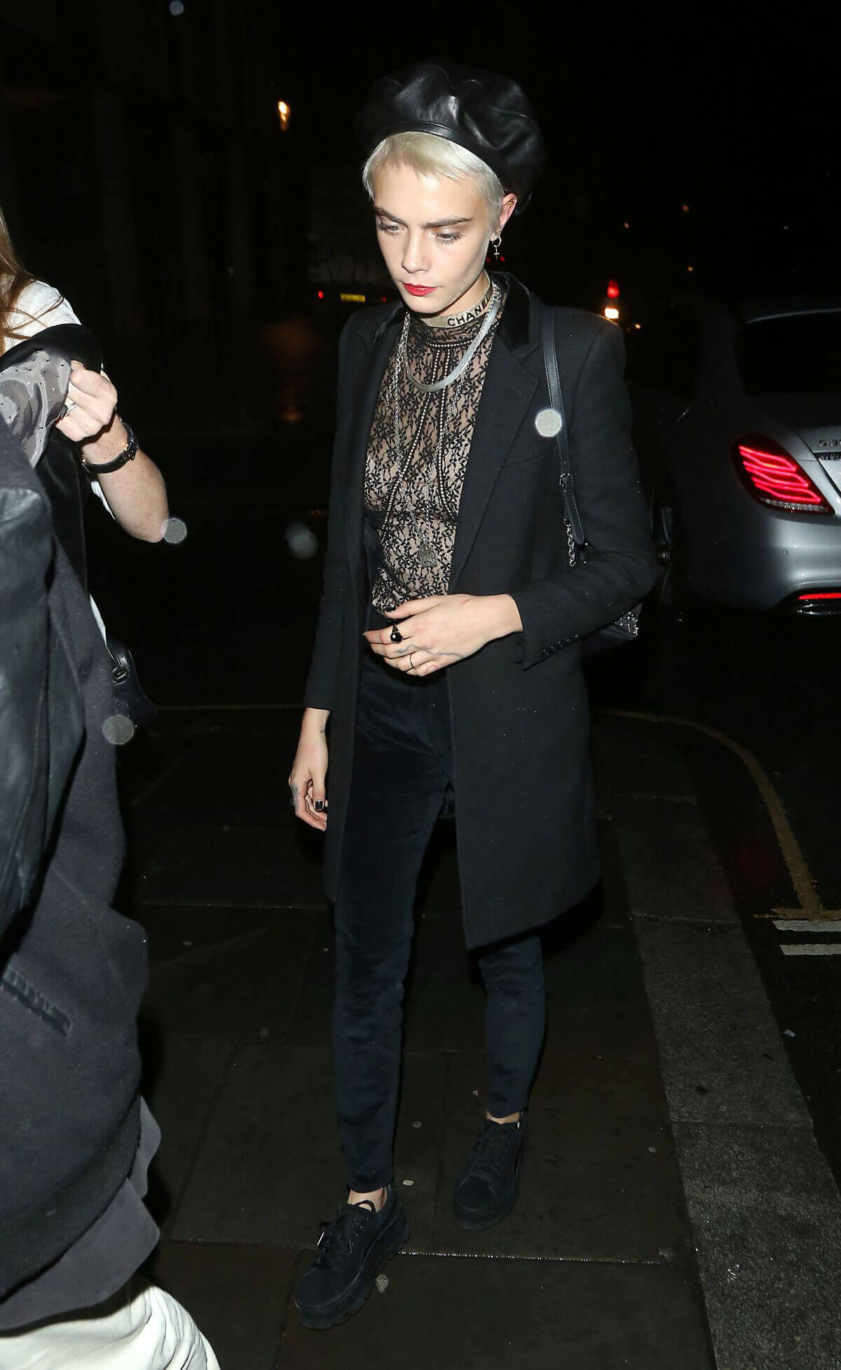 Cara Delevingne Stills Out and About in London