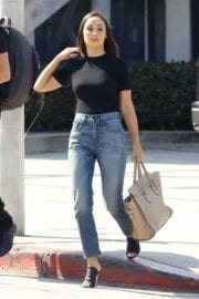 Cara Santana Stills Out for Lunch in West Hollywood