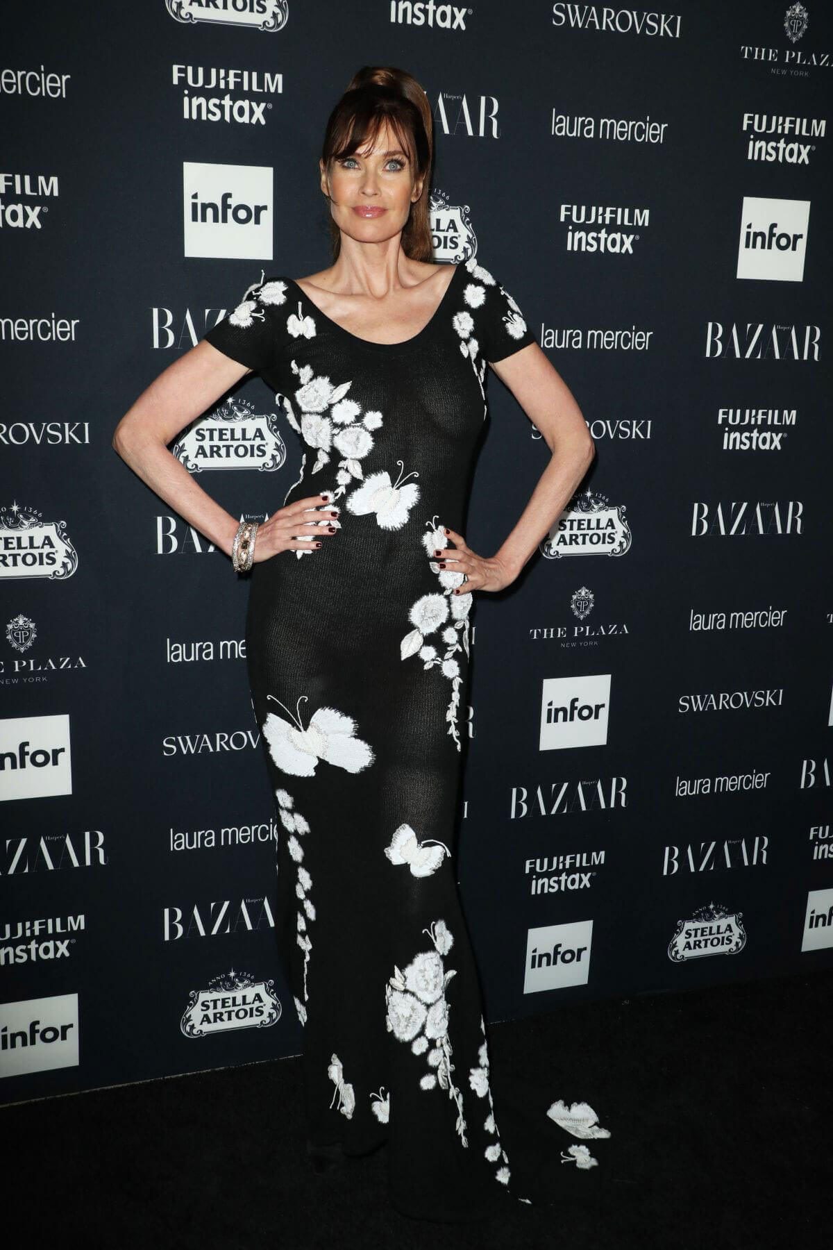 Carol Alt Stills at Harper's Bazaar Icons Party in New York