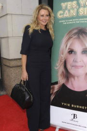 Carol Vorderman Stills at Yes, You Can Sing! Book Launch in London