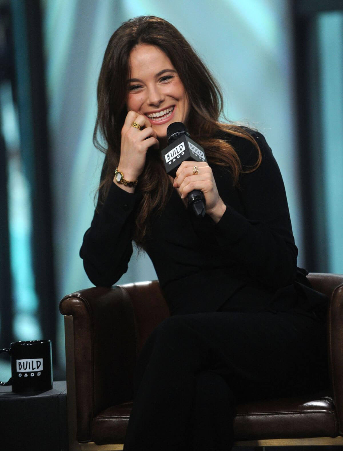 Caroline Dhavernas Stills AOL Build Series for Easy Living