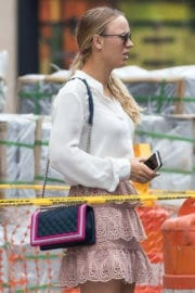 Caroline Wozniacki Stills Out and About in New York