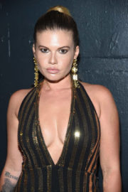 Chanel West Coast at The Blonds Fashion Show at New York Fashion Week