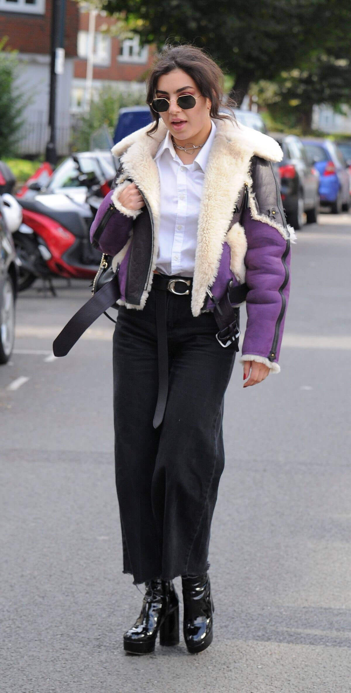 Charli XCX Stills Out and About in London