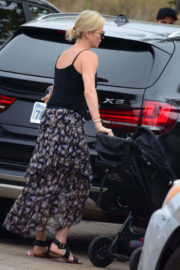 Charlize Theron Stills Leaves Chilli Cook-off Event in Malibu