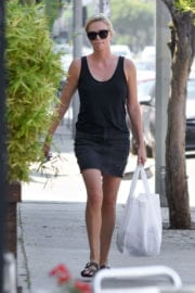 Charlize Theron Stills Shopping in West Hollywood
