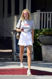 CHIARA FERRAGNI Out and About in Los Angeles