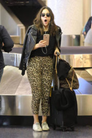 Chloe Bennet Stills at LAX Airport in Los Angeles