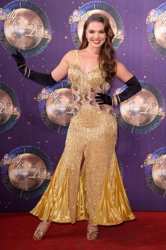 Chloe Hewitt at BBC Strictly Come Dancing 2017 Launch in London