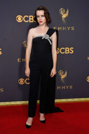 Claire Foy Stills at 69th Annual Primetime Emmy Awards in Los Angeles