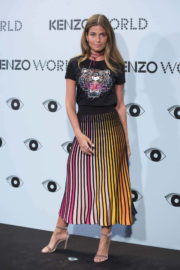 Coral Simanovich Stills at Kenzo's Summer Party in Madrid
