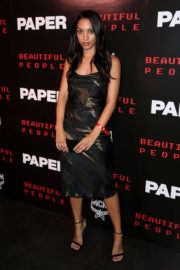 Corinne Foxx at Paper Magazine Beautiful People Release Party in New York