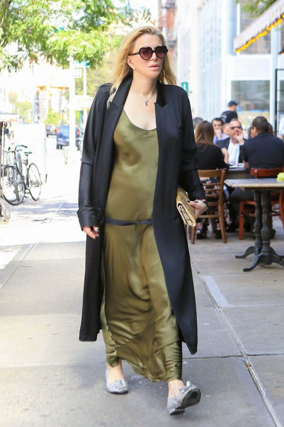 Courtney Love Stills Out and About in New York