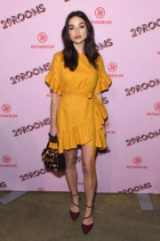 Crystal Reed Stills at Refinery29 Third Annual 29rooms: Turn It Into Art Event in Brooklyn