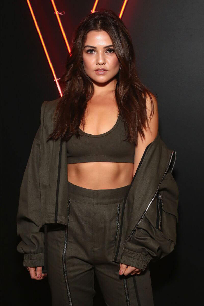 Danielle Campbell Stills at Maybelline Mansion Presented by V in New York