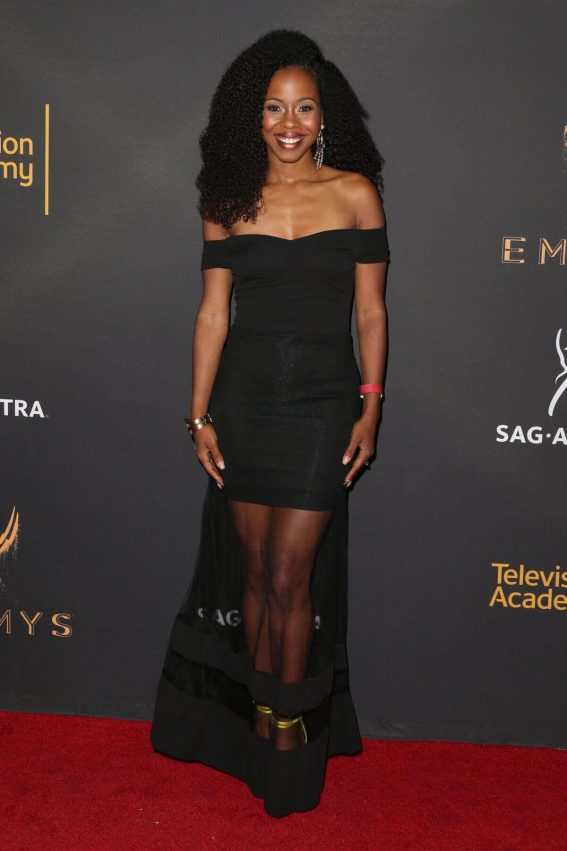 Danielle Mone Thrower at Dynamic & Diverse Emmy Reception in Los Angeles