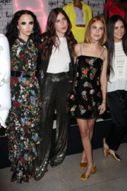 Demi Moore, Scout and Tallulah Willis at Alice & Olivia Fashion Show at NYFW
