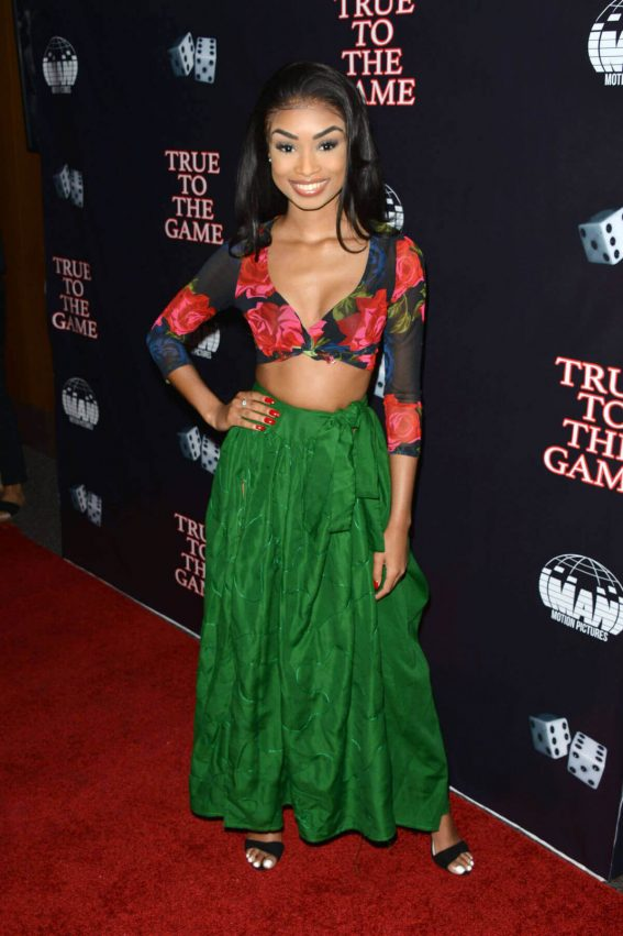 """Desirée Mitchell Stills at """"True To The Game"""" Movie in Los Angeles"""
