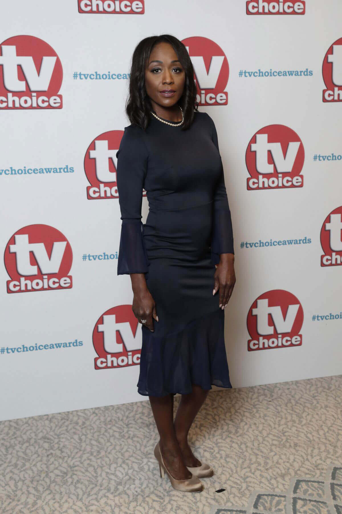Diane Parish Stills at TV Choice Awards 2017 in London
