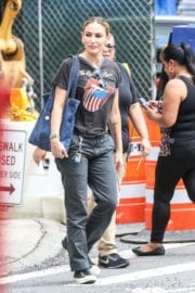 Drea de Matteo Stills Out and About in New York