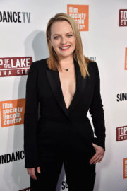 Elisabeth Moss Stills at 'Top Of The Lake China Girl' Premiere in New York