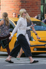 Elle Fanning Out and About in New York