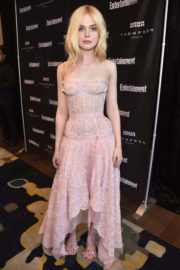 Elle Fanning Stills at Entertainment Weekly's Must List Party in Toronto