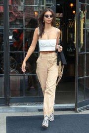 Emily Ratajkowski Looking Pretty Stills Out and About in New York