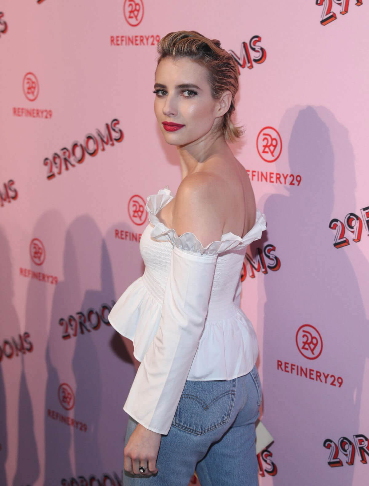 Emma Roberts Stills The Refinery29 Third Annual 29Rooms: Turn It Into Art Event in Brooklyn