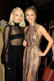 Emma Stone & Jennifer Lawrence at Mother! Premiere Afterparty in New York