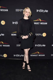 Emma Stone Stills at HFPA & Instyle Annual Celebration of 2017 TIF