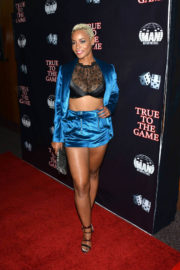 """Erica Peeples Stills at """"True To The Game"""" Movie in Los Angeles"""