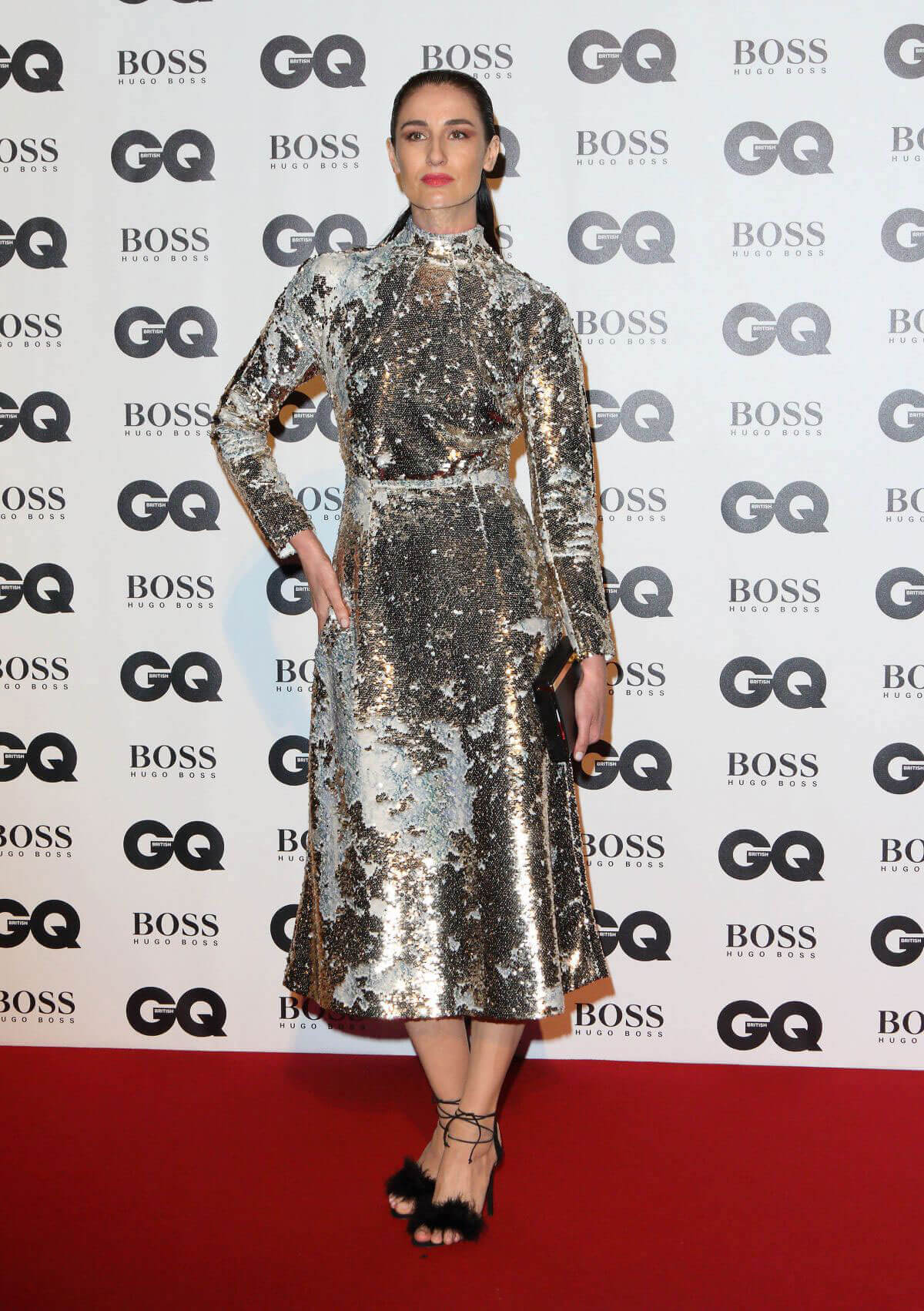 Erin O'Connor Stills at GQ Men of the Year Awards 2017 in London