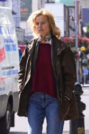 Eva Herzigova Out and About in London