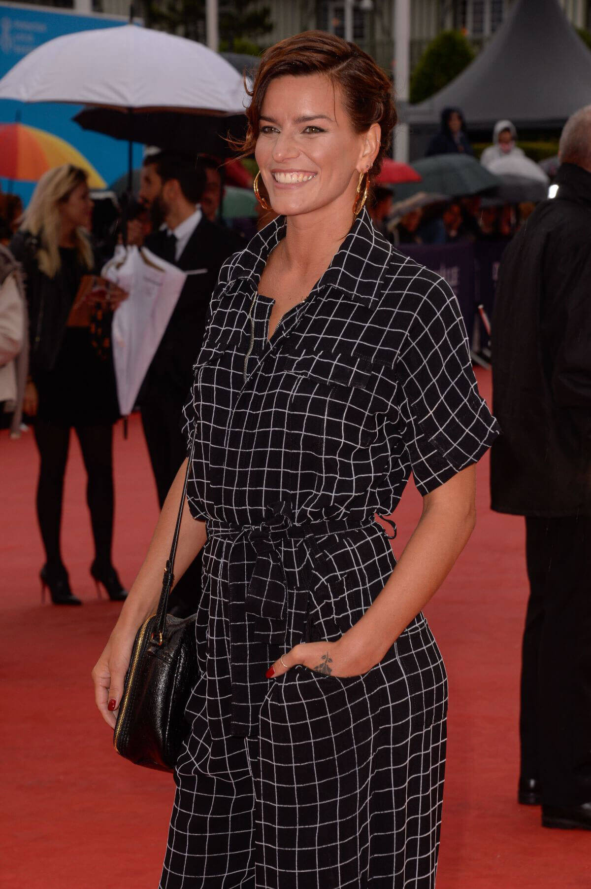 "Fauve Hautot Stills at ""Kidnap Screening at 43rd Deauville American Film Festival"