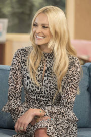 Fearne Cotton Stills at This Morning Show in London