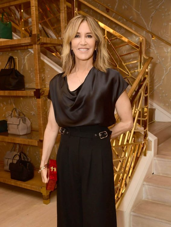 Felicity Huffman Stills at Glamour x Tory Burch Women to Watch Lunch in Beverly Hills