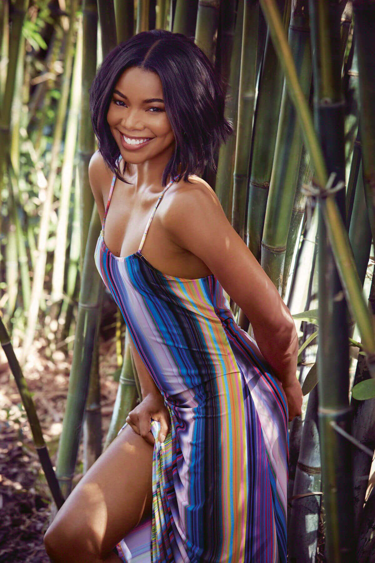 Gabrielle Union Poses for Health Magazine, August 2017