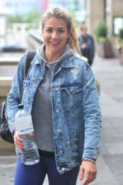 Gemma Atkinson Stills at Strictly Come Dancing Rehearsals in Liverpool